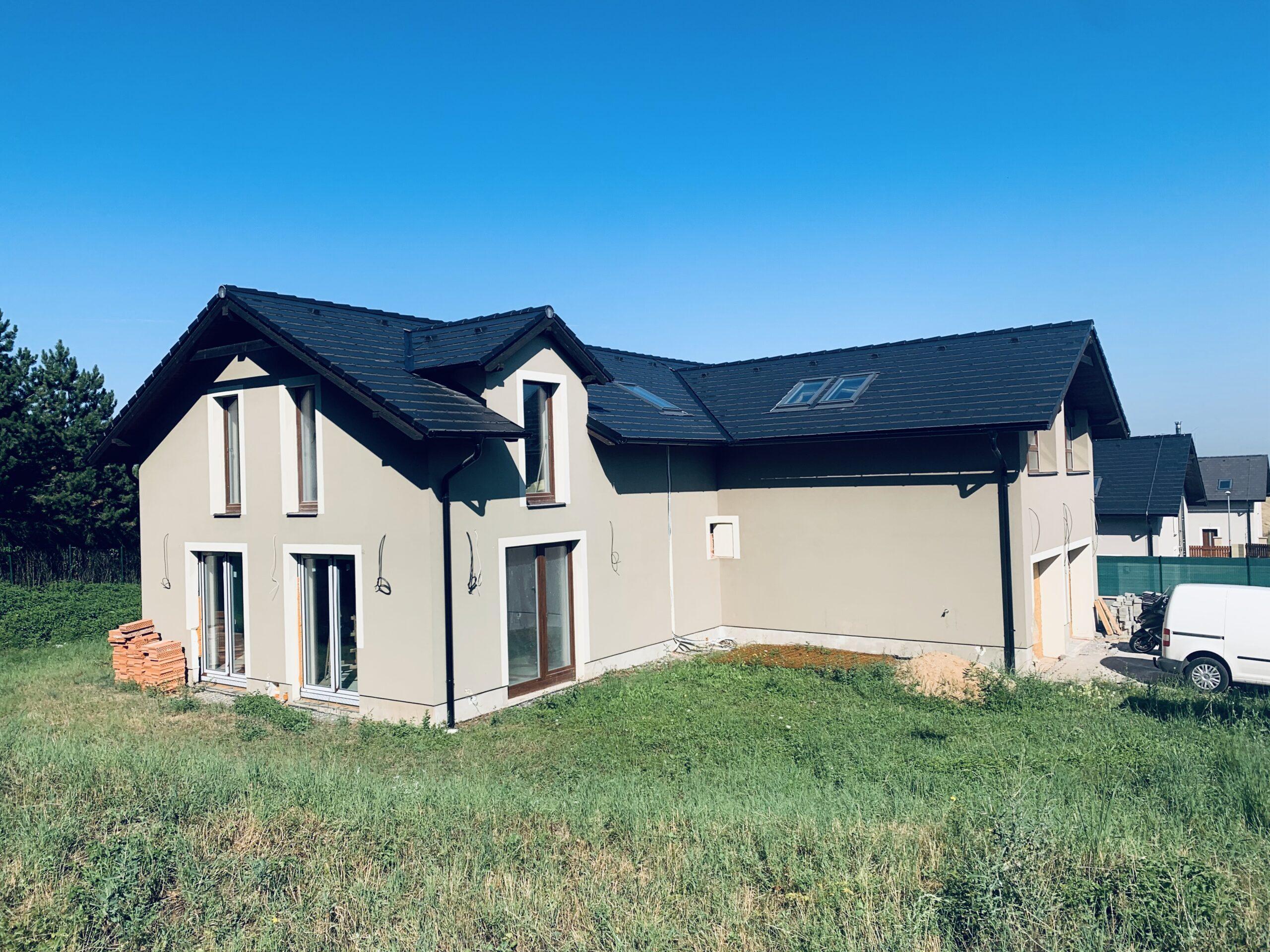 Stavba rodinného domu na klíč Popovičky