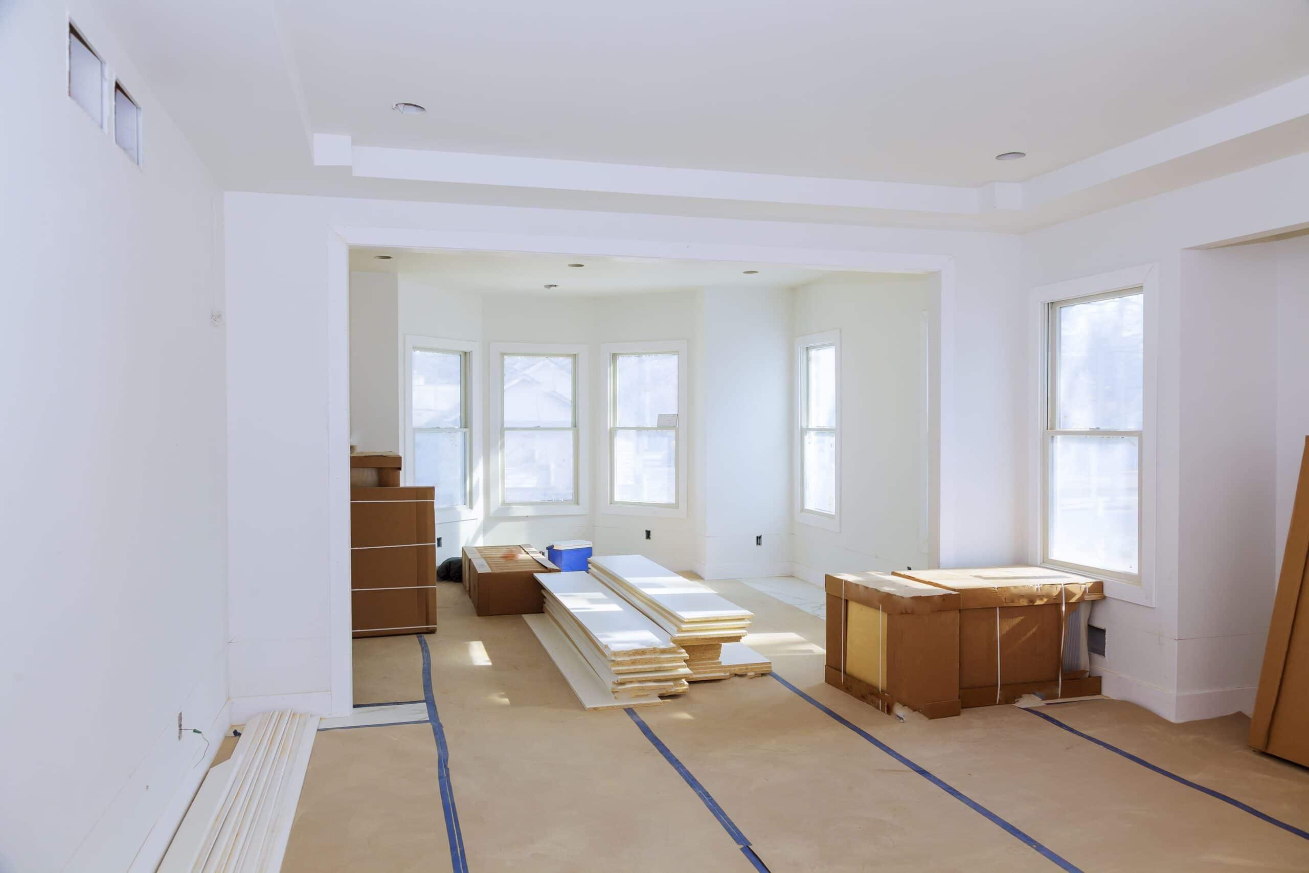 Seriál - Rekonstrukce obývacího pokoje